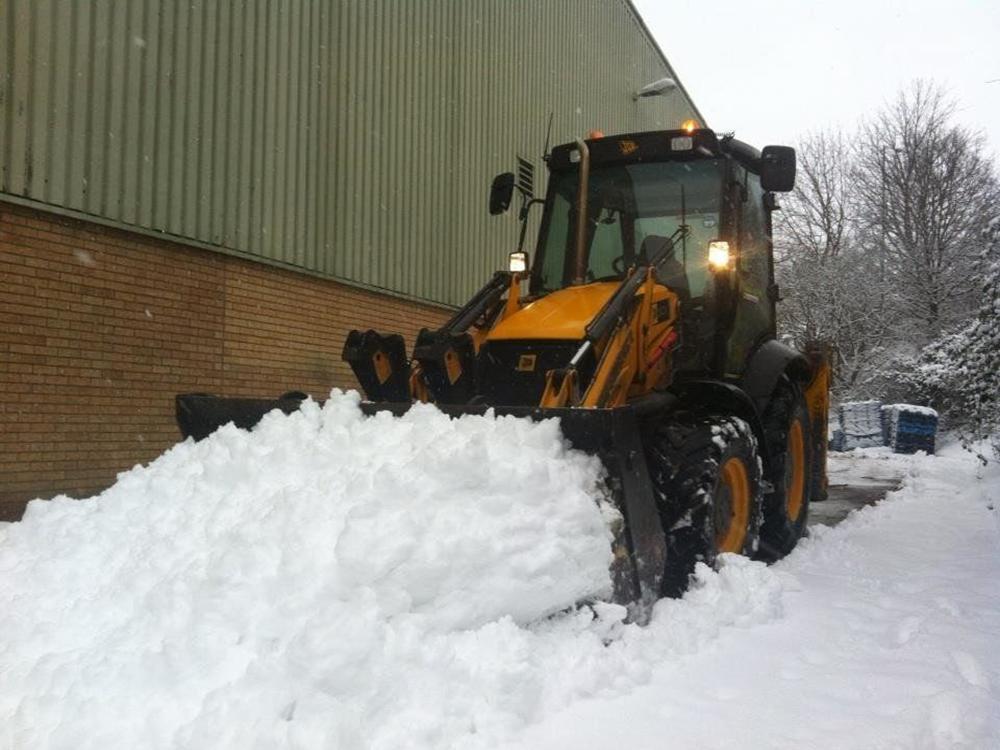 Механизированная уборка и вывоз снега